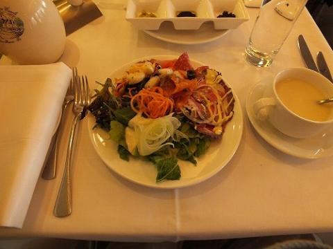 香港ハーバーシティのイタリア料理Spassoのビュッフェ